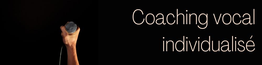 Coaching vocal individualisé - Prise de parole en public